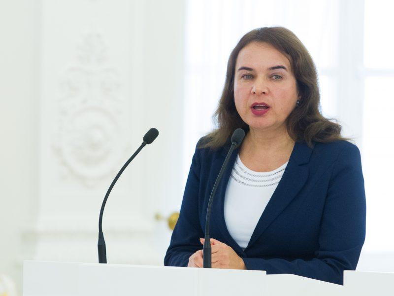 Buvusi ministrė M. Vainiutė paskirta Seimo kontroliere