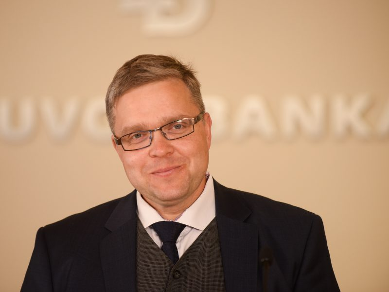 V. Vasiliauskas: pinigų plovimo skandalai turės įtakos skolinimosi kaštams