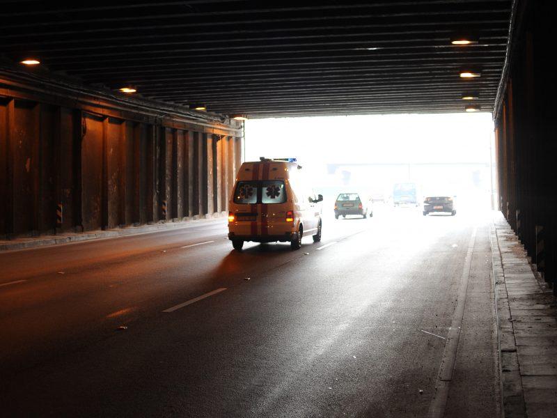 Per avariją Utenos rajone sužalota vairuotoja atsidūrė reanimacijoje