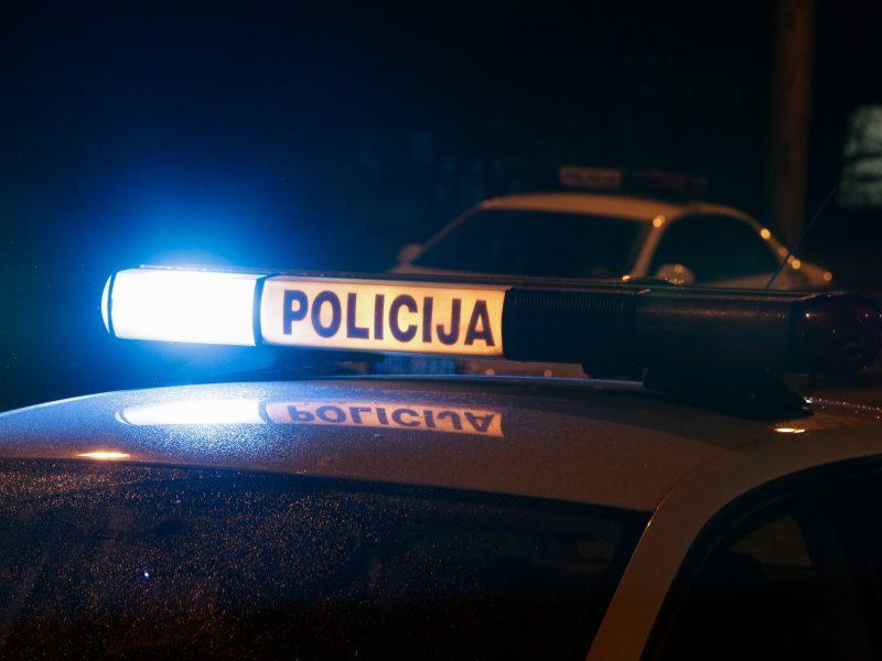 Vilniuje prie vairo įkliuvo neblaivus policininkas