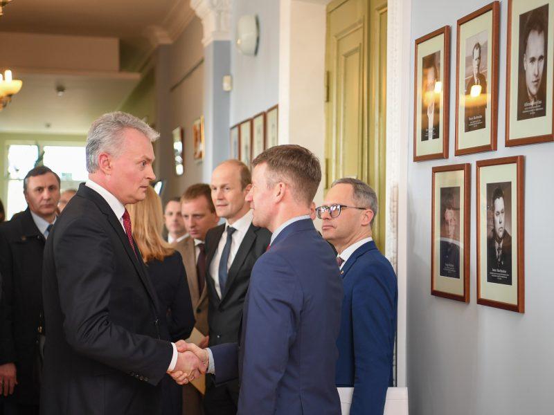 Prezidentas susitiko su Marijampolės regiono merais