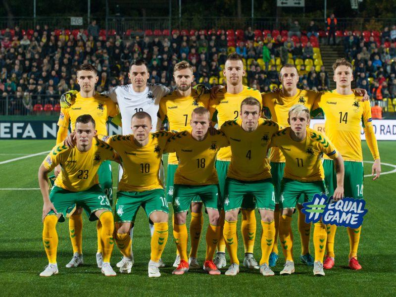 Juodžiausias Lietuvos futbolo rinktinės ruduo