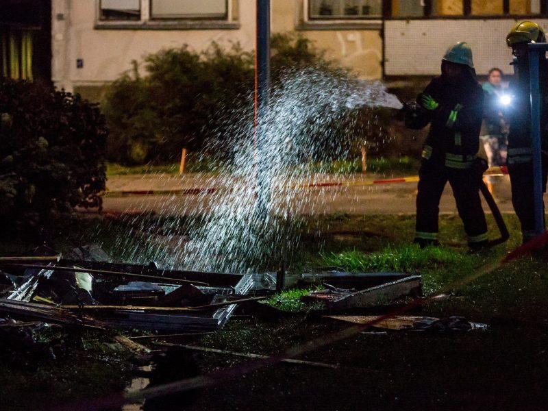 Marijampolėje per gaisrą bute žuvo jaunas vyras