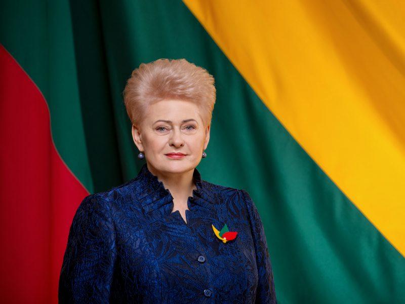 Prezidentė sveikina Lietuvą: saugokime savyje Kovo 11-osios drąsą!