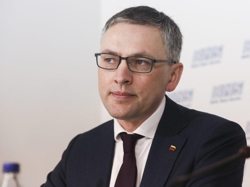 G. Landsbergis: V. Baką siekiama apskritai išbraukti iš Seimo NSGK