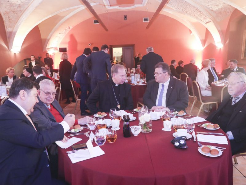 Vilniuje rengiami Nacionaliniai maldos pusryčiai
