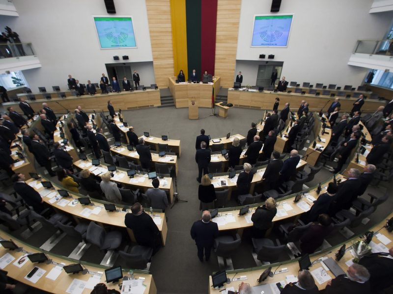 Politologai produktyvios Seimo sesijos nesitiki