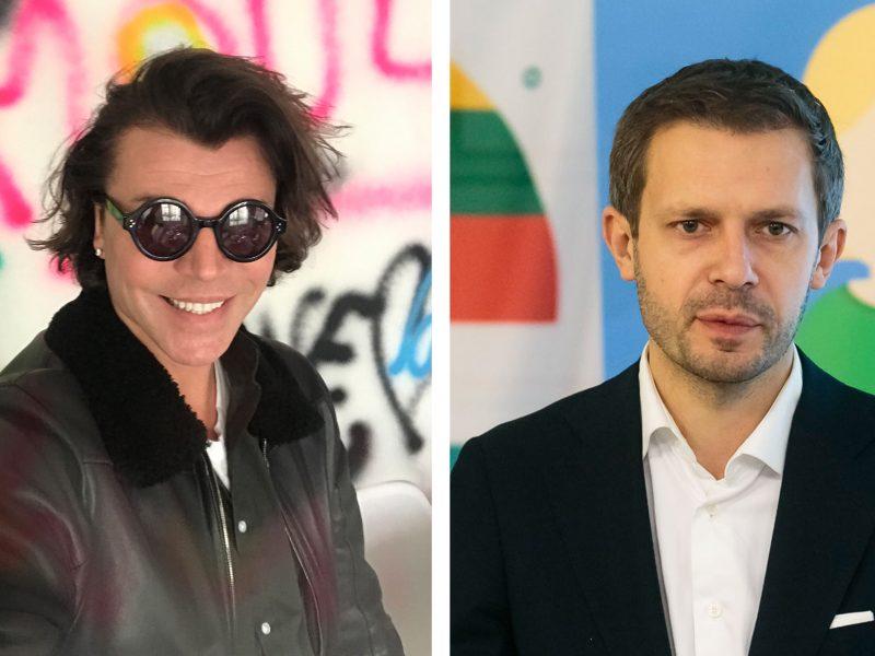J. Statkevičiaus ir A. Tapino akistata teisme: dizaineris džiaugiasi apgynęs orumą