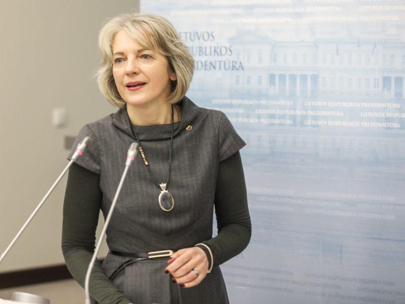 Prezidentūra apie Kinijos pagalbą: Lietuva išliks principinga dėl žmogaus teisių