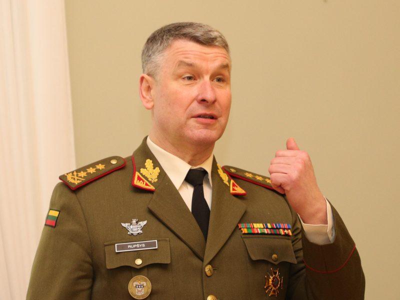 Kariuomenės vadas: Rusijos ir Baltarusijos pratybų puolamasis scenarijus kelia nerimą