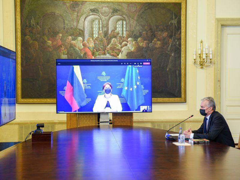 G. Nausėda suteikė įgaliojimus Lietuvos ambasadoriams Kinijoje ir PAR