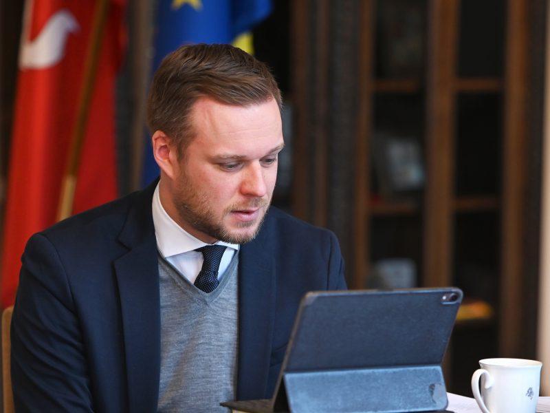 G. Landsbergis: ES užsienio politikoje privalu laikytis vertybinio požiūrio