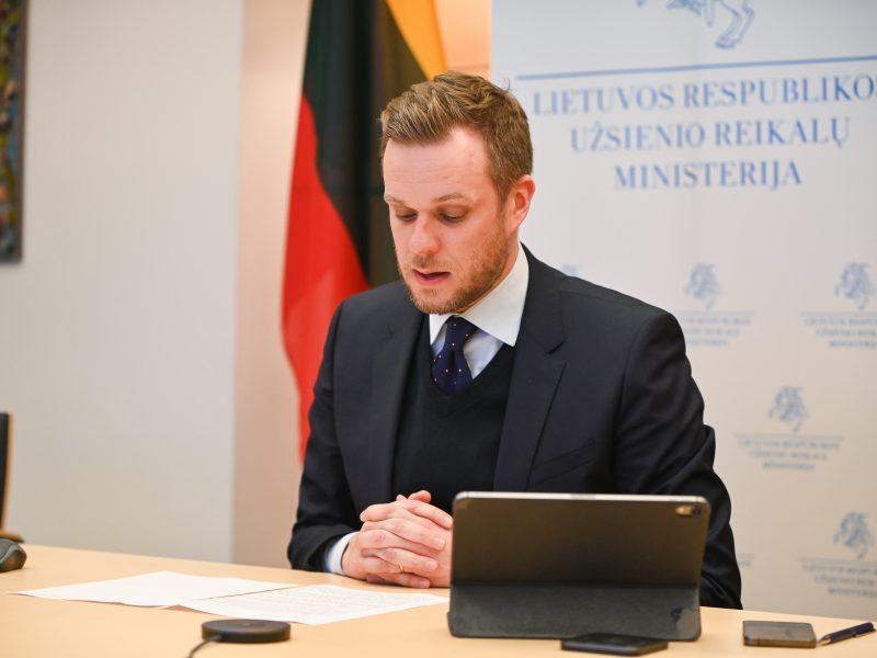 Šiaurės Makedonijos derybų dėl ES narystės pradžiai – Lietuvos parama