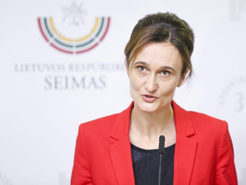 Seimo pirmininkė kviečia minėti įstojimo į JTO dieną
