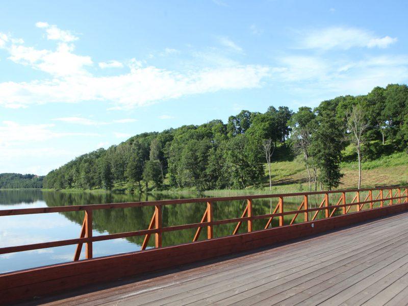 Medinio tilto per Asvejos ežerą remontas kainuos 1,6 mln. eurų
