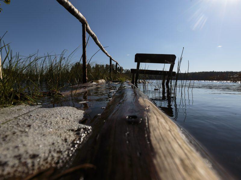 Nelegalių tvorų prie ežerų ir upių statytojams siūlo 10 kartų didesnes baudas