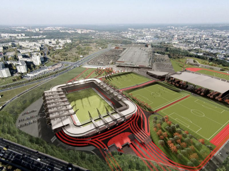 Vilnius nacionalinį stadioną statys be ES lėšų