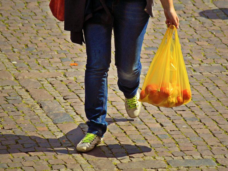 Lietuviai rado kuo pakeisti vienkartinius plastikinius maišelius