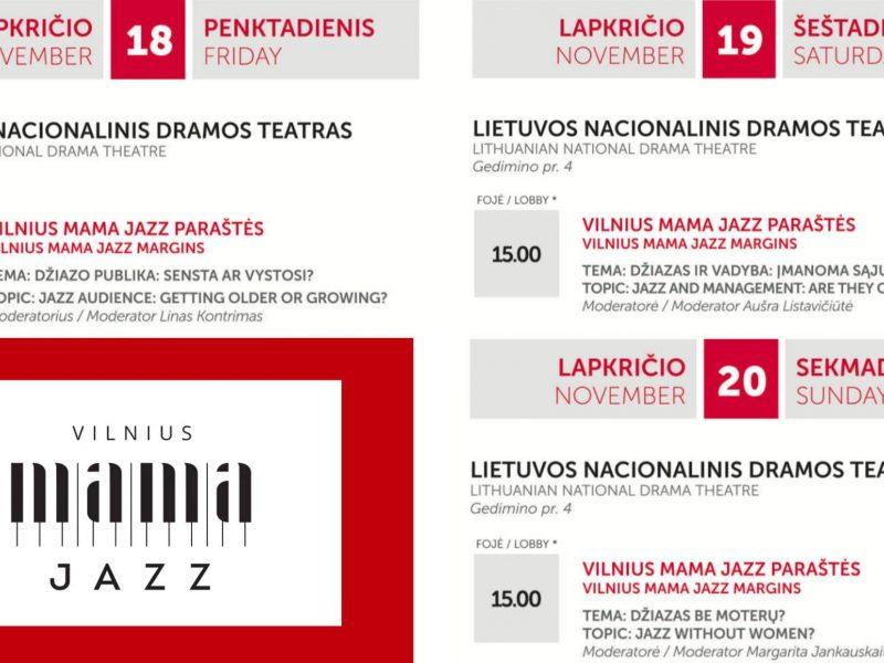 """""""Vilnius Mama Jazz"""" temos: nuo senstančios publikos iki moterų klausimo"""