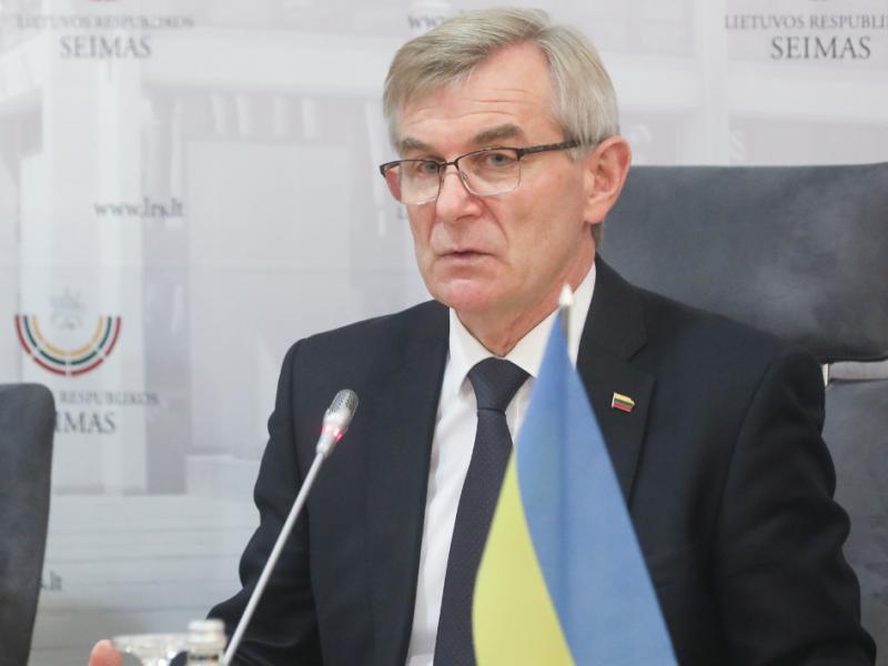 V. Pranckietis dėl gresiančio atstatydinimo nevyks į Ukrainą