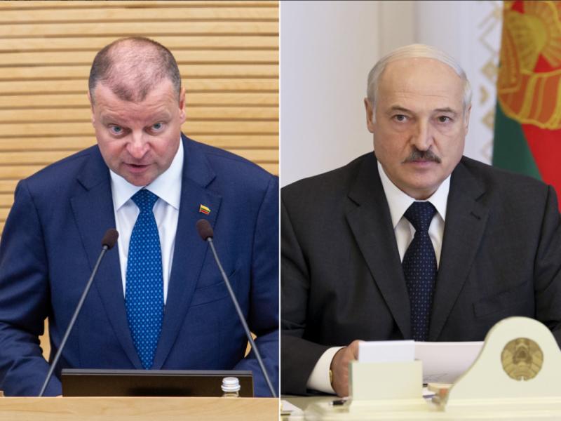 S. Skvernelis: A. Lukašenkos retorika primena desperaciją bandant surasti priešą