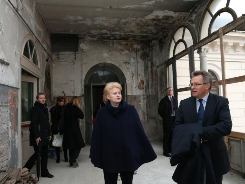 Lietuva baigia įrengti naują ambasadą Italijoje