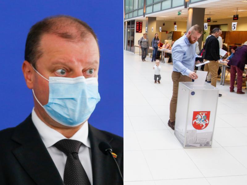 S. Skvernelis tikina: Seimo rinkimai įvyks numatytu laiku ir bus saugūs