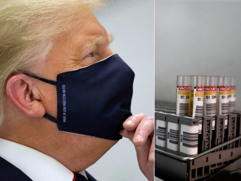 JAV taikys eksperimentinį gydymą nuo COVID-19: taip gydytas ir D. Trumpas
