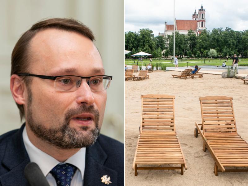 Kultūros ministras: dėl Lukiškių aikštės Vilniuje būtina diskusija