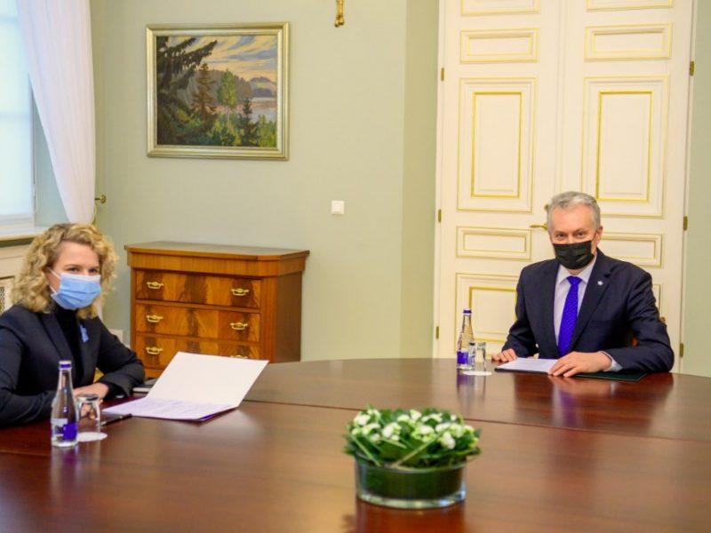 G. Nausėda su A. Armonaite aptars viešųjų pirkimų politiką