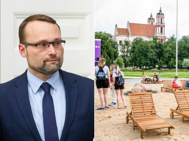 Ministras: svarbu, kad Lukiškių aikštėje atsirastų vienijantis simbolis