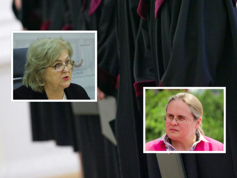 Parlamentarės turi pasiūlymą dėl teisėjų valstybinių pensijų