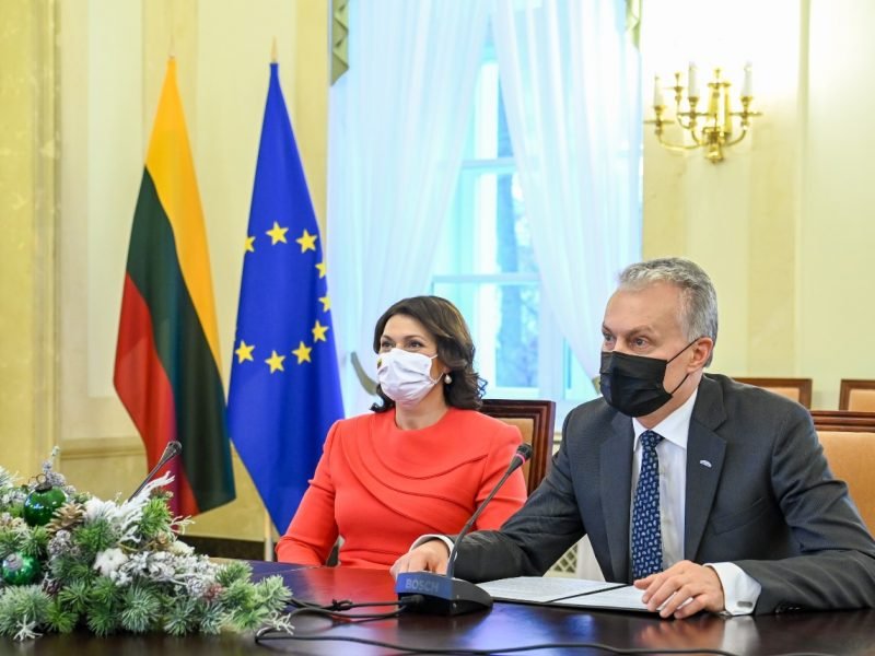 Prezidentūra apie Kalėdoms grįžusią G. Nausėdaitę: buvo laikomasi visų reikalavimų