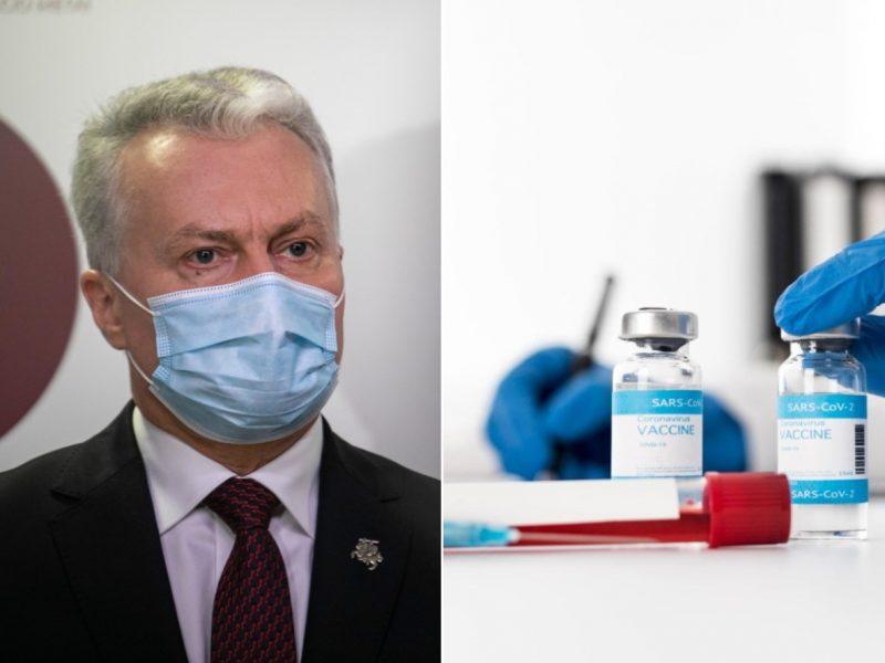 Po skandalų Prezidentūra ragina stiprinti vakcinavimo nuo COVID-19 kontrolę