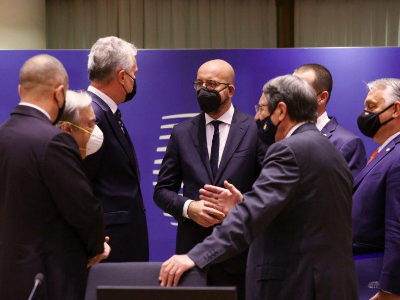 G. Nausėda: ES atkreipė dėmesį į nelegalios migracijos srautus iš Baltarusijos