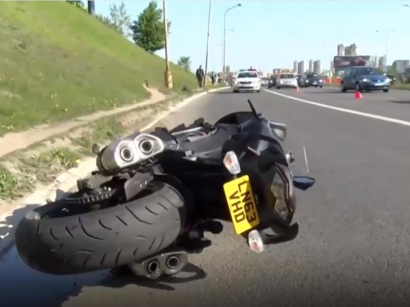 Vilniuje per avariją sunkiai sužalotas motociklininkas