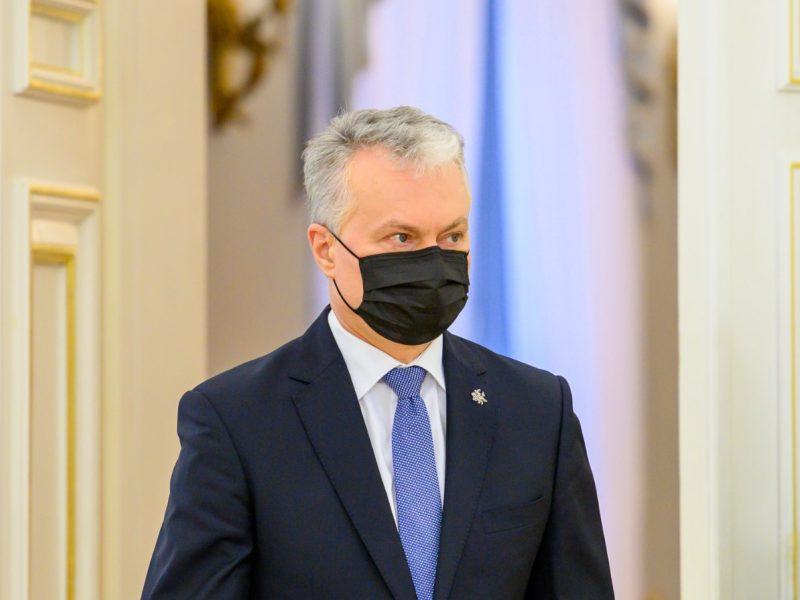 """Prezidentūra: G. Nausėdos vizito į Sakartvelą nerengsime """"ant karštųjų"""""""