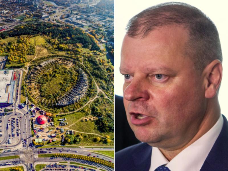 Premjeras pavedė ministerijai išnagrinėti stadiono poreikį Vilniuje