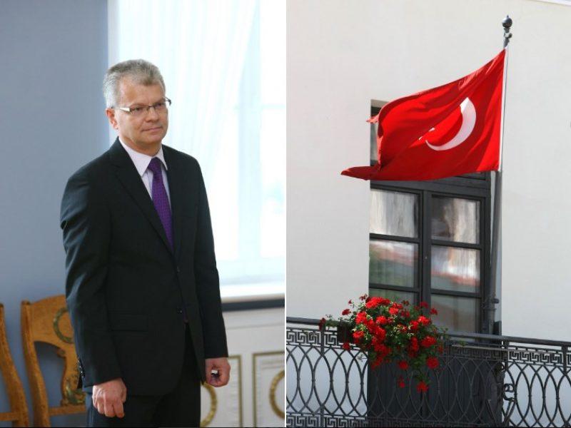 Ambasadoriumi Turkijoje Vyriausybė prezidentui siūlo skirti R. Degutį