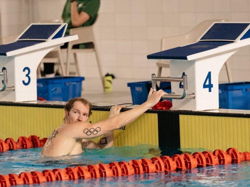 Plaukikas S. Bilis varžybose Švedijoje iškovojo bronzą