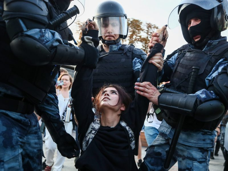 Lietuvos politikai prašo tarptautinių institucijų įvertinti suėmimus Maskvoje