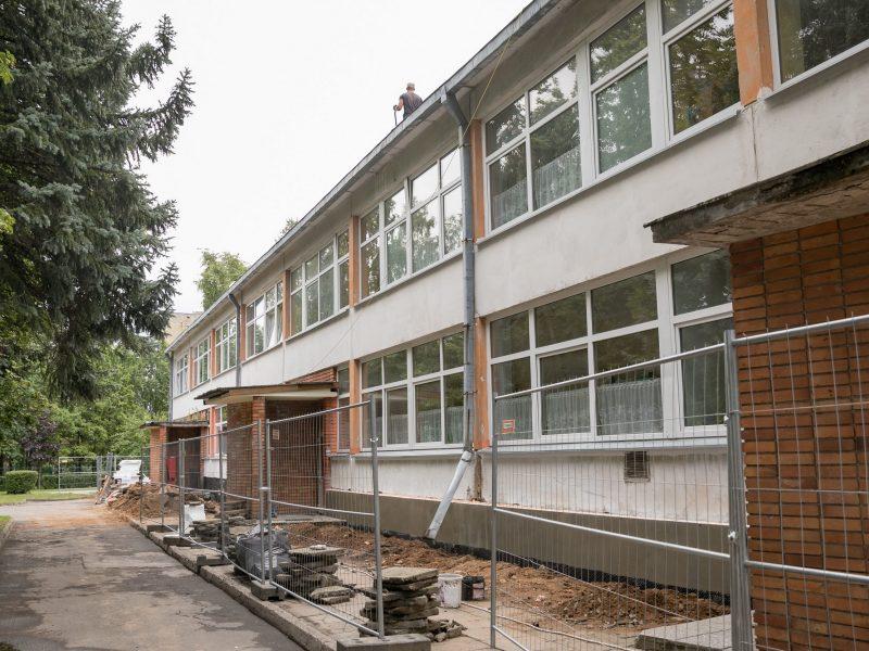 Vilniaus valdžia žada šiemet suremontuoti 252 mokyklas ir darželius
