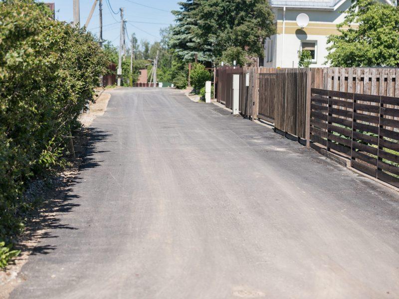 """Programa """"50 ir 50"""" keičia Vilnių: remontuojama 19 gatvių ir 6 km žvyrkelių"""