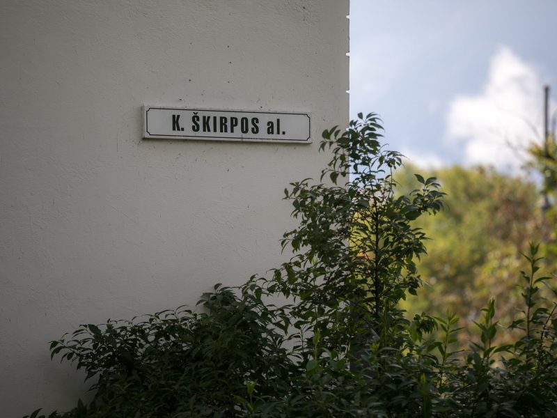 Vilniaus valdžia linkusi pervadinti K. Škirpos alėją