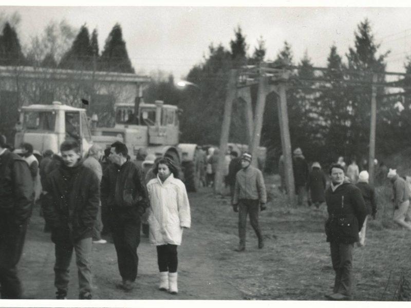 Laisvės gynėjų diena Kauno rajone: kokia ji buvo prieš 30 metų?