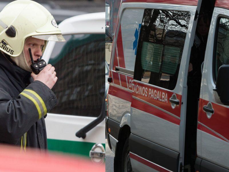 Globos įstaigoje Vilniuje nugriaudėjo sprogimas: sužalotas azoto baką pildęs darbininkas