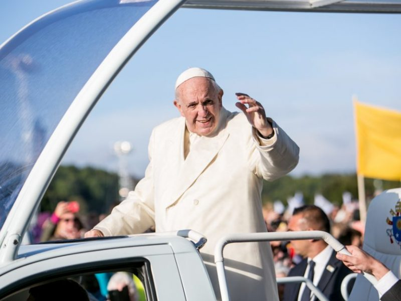 Kokią žinutę iš tiesų pasiuntė popiežius?