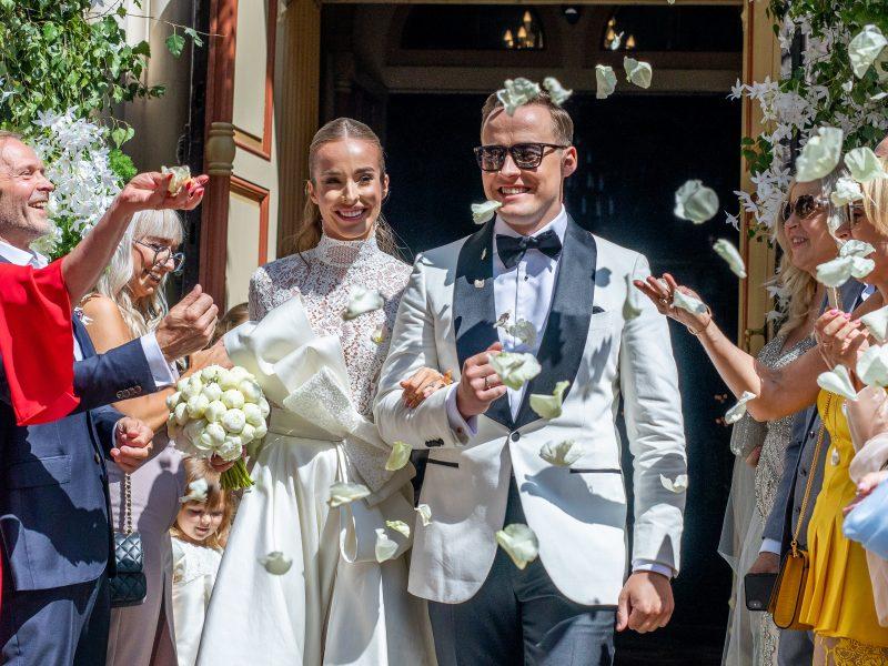 Vilniuje susituokė V. Siegel ir L. Suodaitis