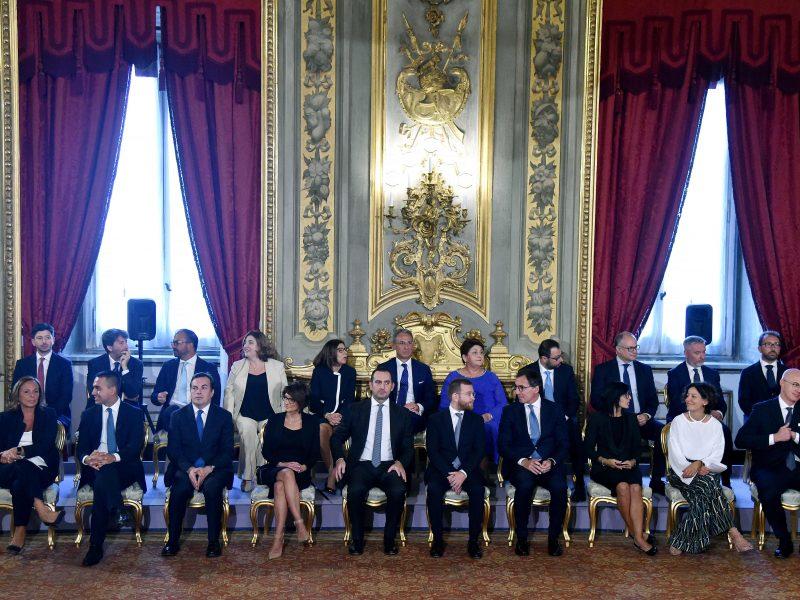 Italijoje prisaikdinta naujoji vyriausybė