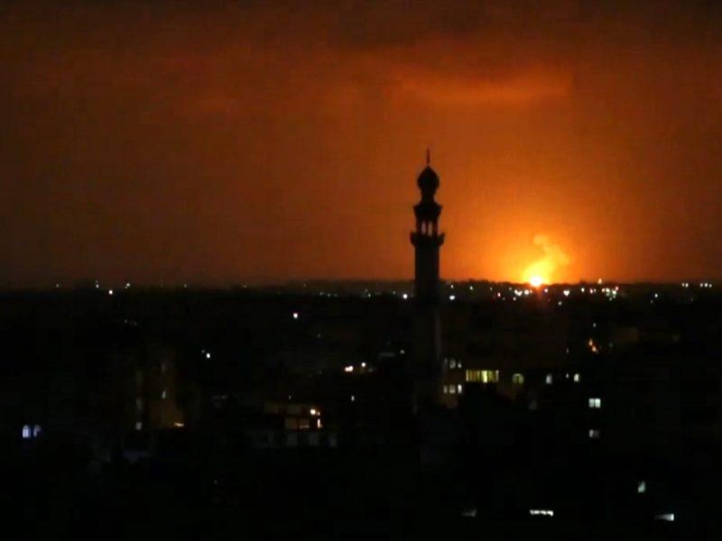 Izraelio pajėgos apšaudė Gazos ruožą
